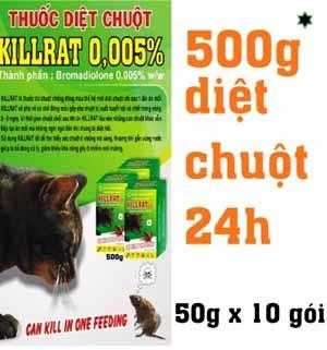 Thuốc diệt chuột killrat 0,005%