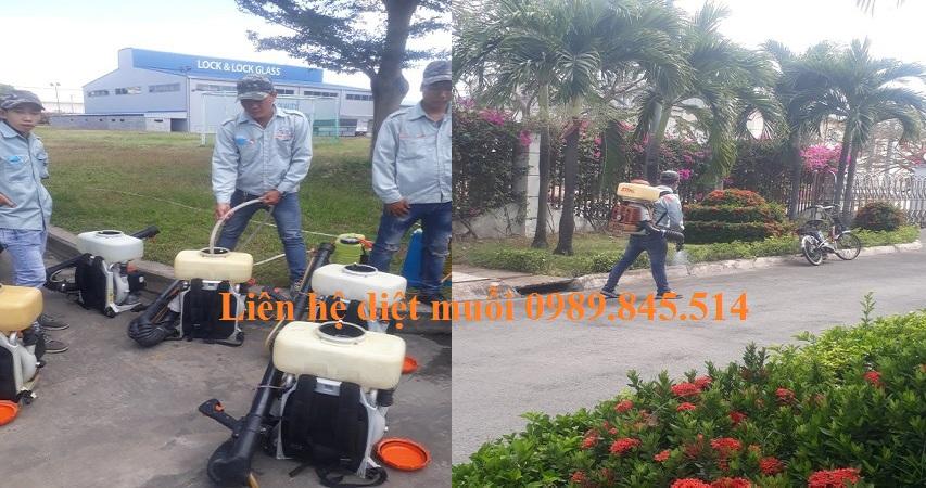 Dịch vụ phun diệt muỗi tận gốc Bắc Ninh