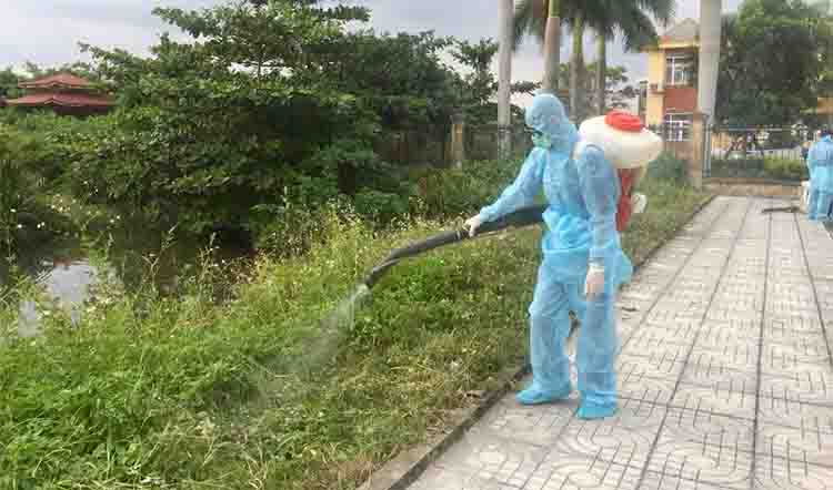 phun diệt muỗi tại Huyện Chương Mỹ