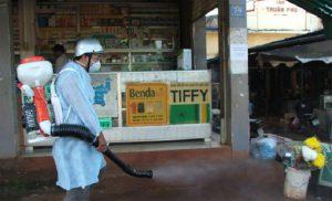 phun diệt muỗi tại Huyện Đan Phượng