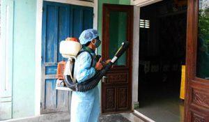 phun diệt muỗi tại nhà